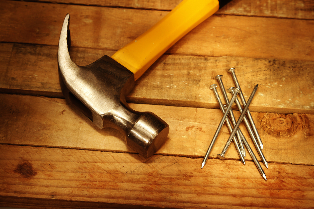 hammer and nails clipart
